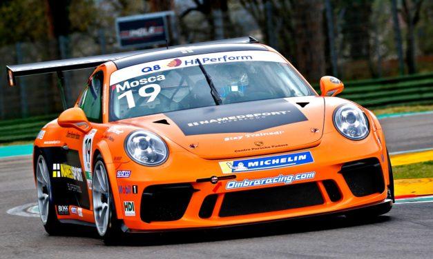 eRACE 4 CARE: dalla Porsche Carrera Cup Italia arriva Tommaso Mosca