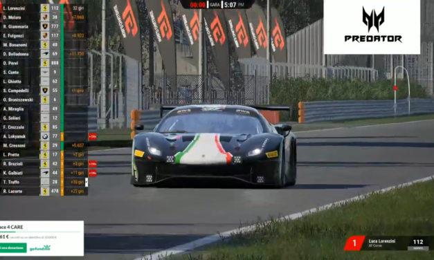 Rovera-Lorenzini e Mosca-Floris i vincitori delle prime due gare eRACE 4 CARE