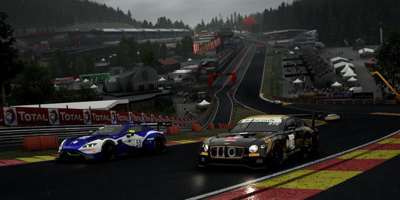 Nurburgring e Spa-Francorchamps nella seconda giornata eRACE 4 CARE