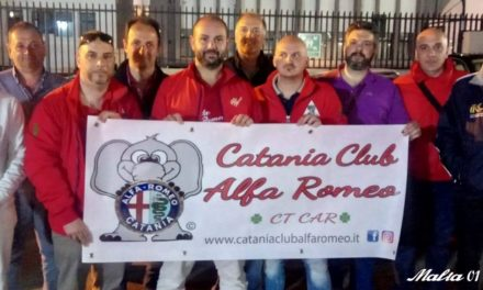 Il Catania Club Alfa Romeo acquista la postazione Trak Racer RS6 eRACE 4 CARE