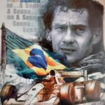 """The Magic"": the artwork dedicated to Ayrton Senna in auction for eRACE 4 CARE"