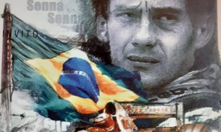 """""""The Magic"""": the artwork dedicated to Ayrton Senna in auction for eRACE 4 CARE"""