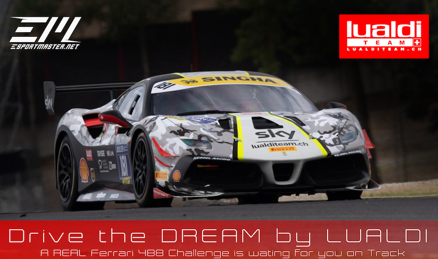 DRIVE THE DREAM – REAL TRACK WITH REAL FERRARI 488 Challenge