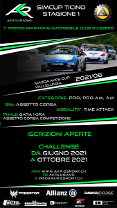 SIMCUP TICINO Mazda MX-5 Cup