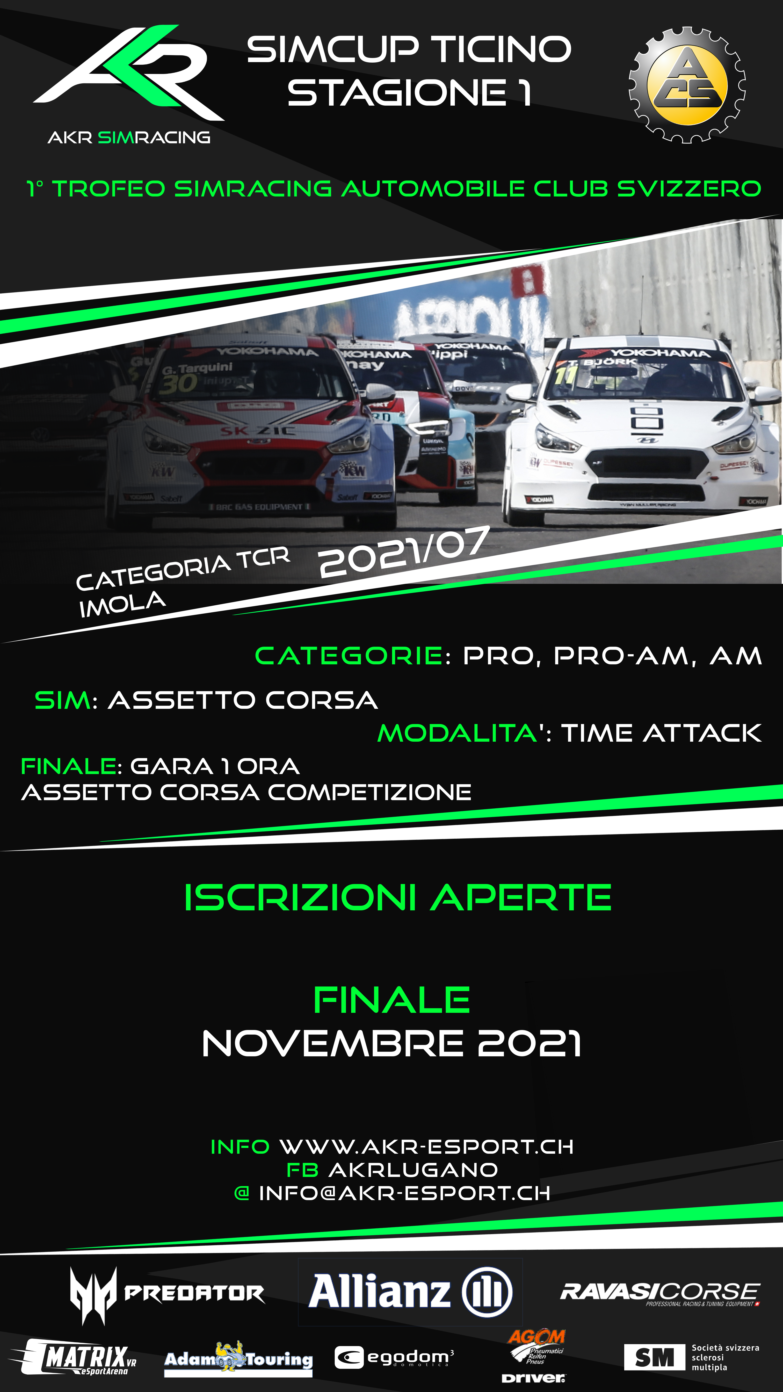 SIMCUP TICINO TCR